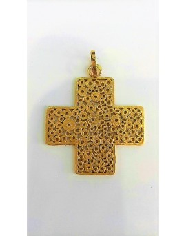 Cruz de Filigrana em Ouro
